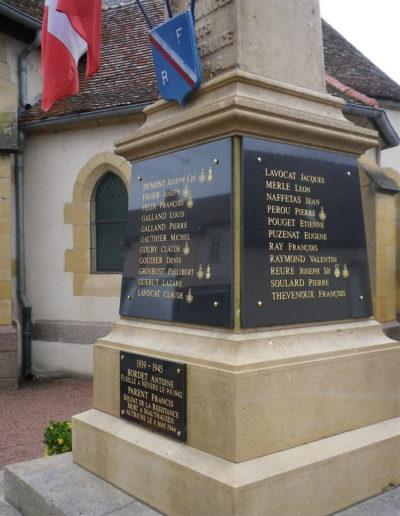 Viallet Pompes Funebres Allier Dompierre-sur-besbre monument